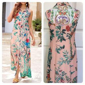 NWT! Soft Surroundings Chinoiserie Dress